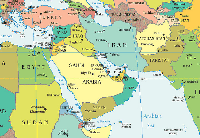 Historical Information about Middle East