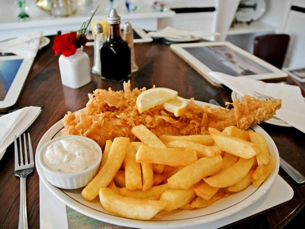 Top 4 Fish and Chip Shops in Grimsby, England